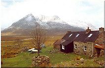 NH0681 : Shenavall Bothy by paul birrell