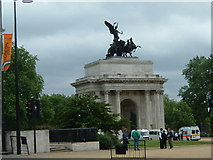 TQ2879 : Wellington Arch by Claire Ward