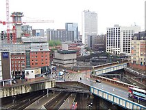 SP0686 : From above New Street Station by Adrian Bailey