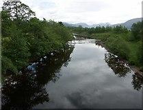 NM9762 : View East from Sallachan Bridge near Ardgour in Argyll by J M Briscoe
