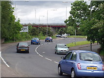 NS4464 : Linwood: Junction between A761 and A737 by Gordon McKinlay