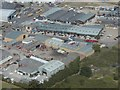 TG2813 : Rackheath Industrial Estate from the air by Jonathan Neville