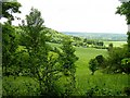 TQ8555 : Looking south to Frogshole near Hollingbourne by Penny Mayes