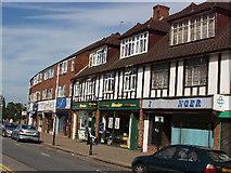 TQ0487 : Denham Green shops by David Hawgood