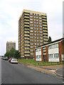 TQ5291 : Dryden Towers, Heaton Avenue, Harold Hill, Essex by John Winfield