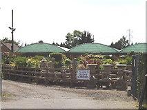TQ0485 : Garden Centre, Oxford Road, New Denham by David Hawgood