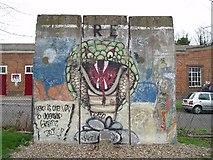 TQ7668 : Berlin Wall by Silver fox