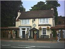 TQ2374 : Green Man public house, Putney Heath. by Noel Foster