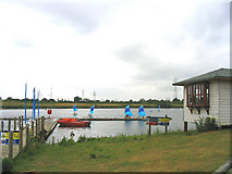TQ5784 : Russell's Lake, Stubbers Outdoor Pursuits Centre, Essex by John Winfield