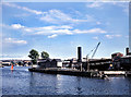 ST5772 : Bristol Floating Harbour with SS Great Britain 1975 by Richard Baker