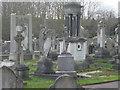TQ2172 : Putney Vale Cemetery by Tony Grant
