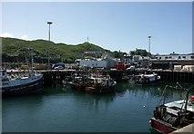 NM6797 : Mallaig Harbour by J M Briscoe