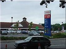 TQ2837 : Tesco Superstore, Hazelwick Avenue, Crawley, West Sussex by Pete Chapman