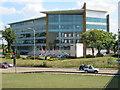 TQ0177 : Honda Building, M4 Junction 5 by Darren Smith
