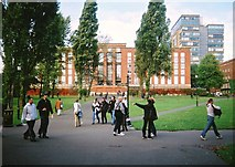 SP0483 : The Main Library, University of Birmingham by Jim Champion