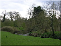 SO8480 : River Stour at Cookley by Tavis Pitt