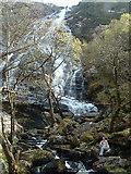 NN1768 : Steall Waterfall by Craig J Seath