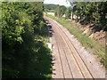 TQ1148 : North Downs Line by Ben Gamble