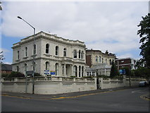 SP3265 : Newbold Terrace East, Royal Leamington Spa by David Stowell