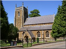 SK8333 : St James's Church, Woolsthorpe by Belvoir by Kate Jewell