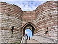 SJ5359 : Beeston Castle Gatehouse by Dave Smethurst