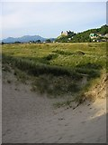 SH5730 : Blowout on the dunes at Harlech by Kay Williams
