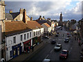 NT9953 : Berwick Town Centre from ramparts by Clive Nicholson