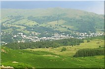 NY3704 : Ambleside from above by Nigel Davies