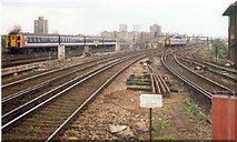 TQ2775 : Clapham Junction Station by Ron Hann