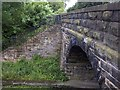 NZ1556 : Old Lintz Green Station Bridge by Clive Nicholson