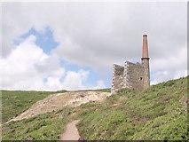 SW5927 : Wheal Prosper near Rinsey by Tony Atkin