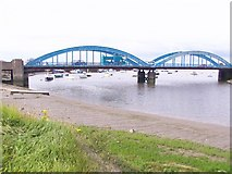 SH9980 : Foryd Bridge over River Clwyd by David and Rachel Landin