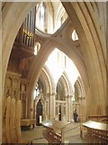 ST5545 : Wells Cathedral interior view by Nigel Freeman