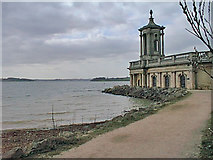 SK9306 : Normanton Church Museum, Rutland Water by Kate Jewell