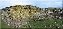 HY7651 : Burrian Broch, North Ronaldsay by Rob Burke