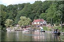 ST6469 : The Old Lock & Weir pub on the River Avon hear Hanham by Martyn Pattison