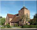 TQ3765 : All Saints church, Spring Park, Shirley, Croydon by Philip Talmage
