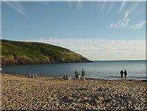 SS0597 : Manorbier Bay by Tony Grant