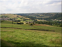 SE1025 : Shibden Valley from Magna Via by Humphrey Bolton