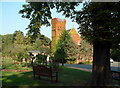 TQ3568 : Beckenham Crematorium & Cemetery - the chapel by Philip Talmage