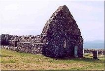 NG2261 : Ruined church, Trumpan, Skye by Paul Evans