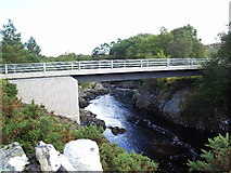 NH4891 : Baldownie Bridge by Kirsty Coghill