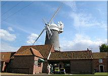 TF7632 : Bircham Windmill, Great Bircham by Andrew Huggett
