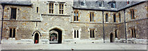 SU4828 : Winchester College courtyard and learned duck by Elaine Hamby