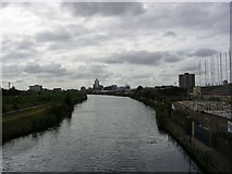 SJ8297 : River Irwell by Keith Williamson