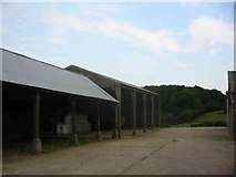 TL1624 : Farmyard at Parsonage Farm by Jack Hill