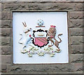 SJ7995 : Arms of the City of Manchester by Keith Williamson