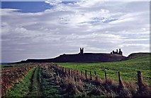NU2422 : Pathway to Dunstanburgh Castle, Northumberland by Christine Matthews