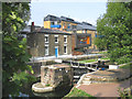 TQ3682 : Mile End Lock, Regent's Canal, East London by John Winfield