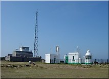SX9456 : Berry Head Lighthouse and the Old Coastguard Station. by Janine Forbes